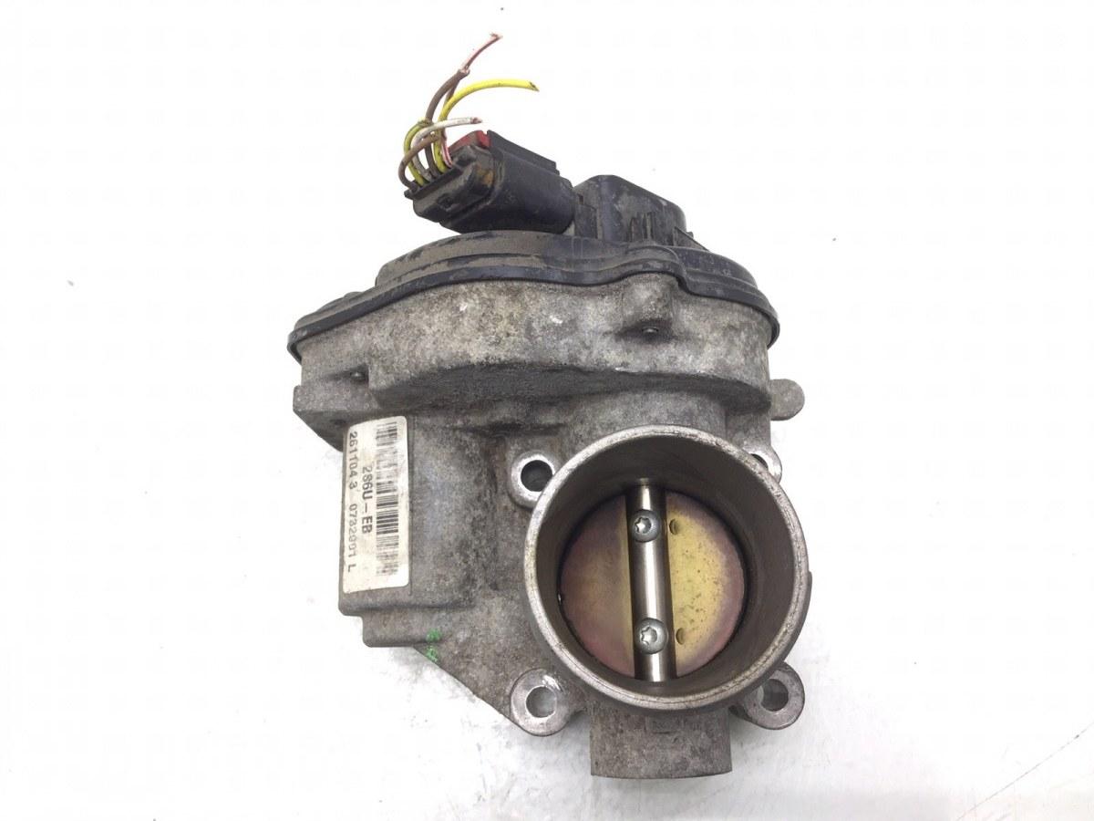 Заслонка дроссельная Ford Fusion 1.4 I 2004 (б/у)