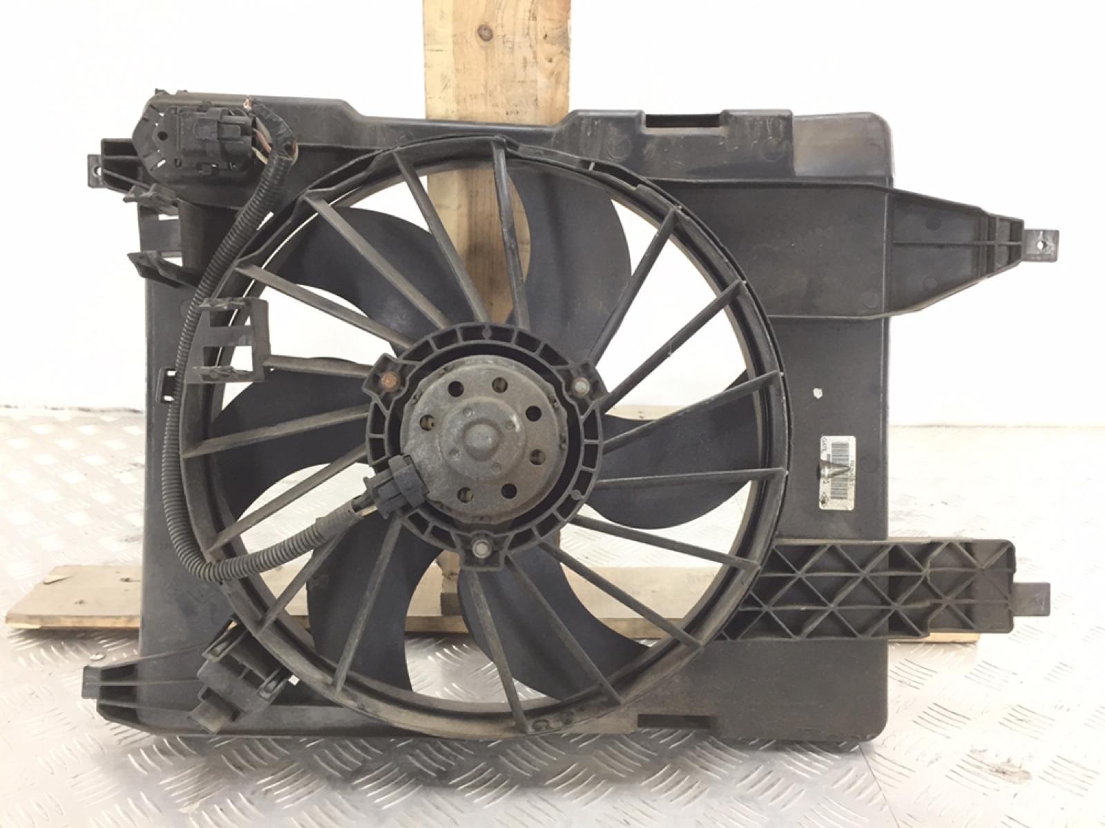 Вентилятор радиатора Renault Grand Scenic 2 2.0 I 2007 (б/у)