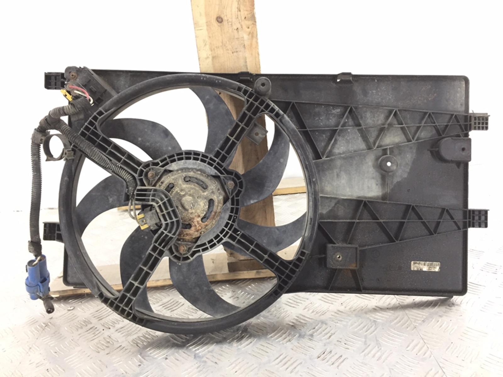 Вентилятор радиатора Peugeot Bipper 1.4 TD 2009 (б/у)