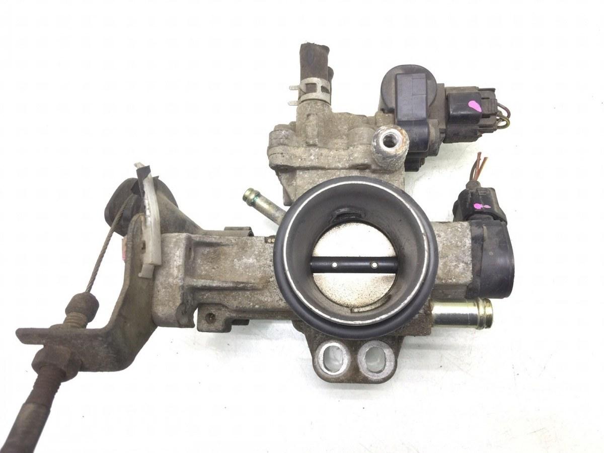 Заслонка дроссельная Toyota Yaris P1 1.0 I 2003 (б/у)