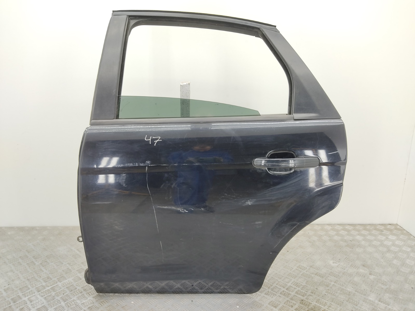Дверь задняя левая Ford Focus 1.6 TDCI 2010 (б/у)