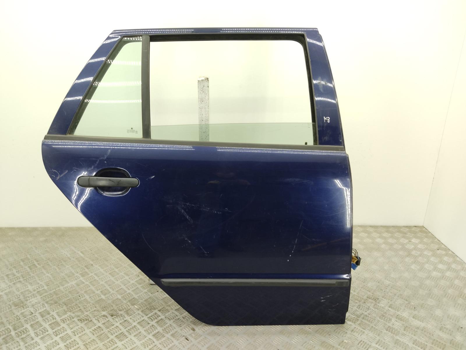 Дверь задняя правая Skoda Fabia 1 1.2 I 2004 (б/у)