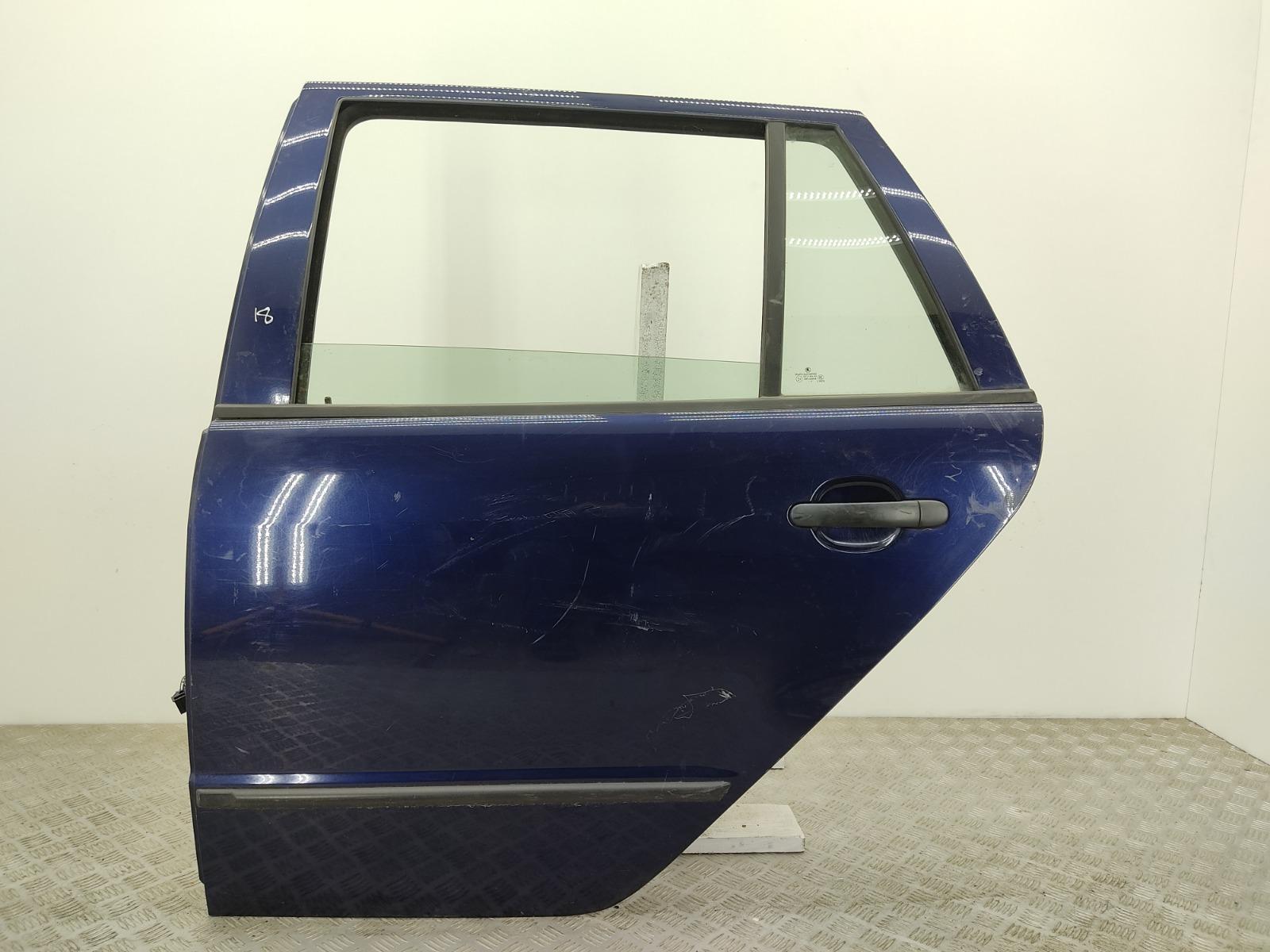 Дверь задняя левая Skoda Fabia 1 1.2 I 2004 (б/у)