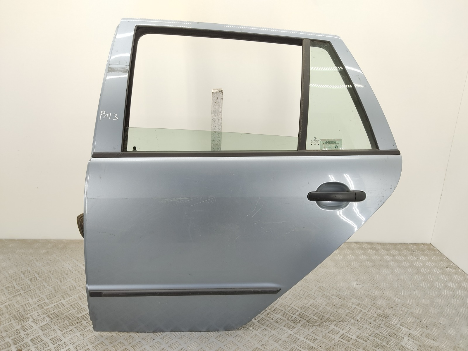Дверь задняя левая Skoda Fabia 1 1.4 TDI 2003 (б/у)