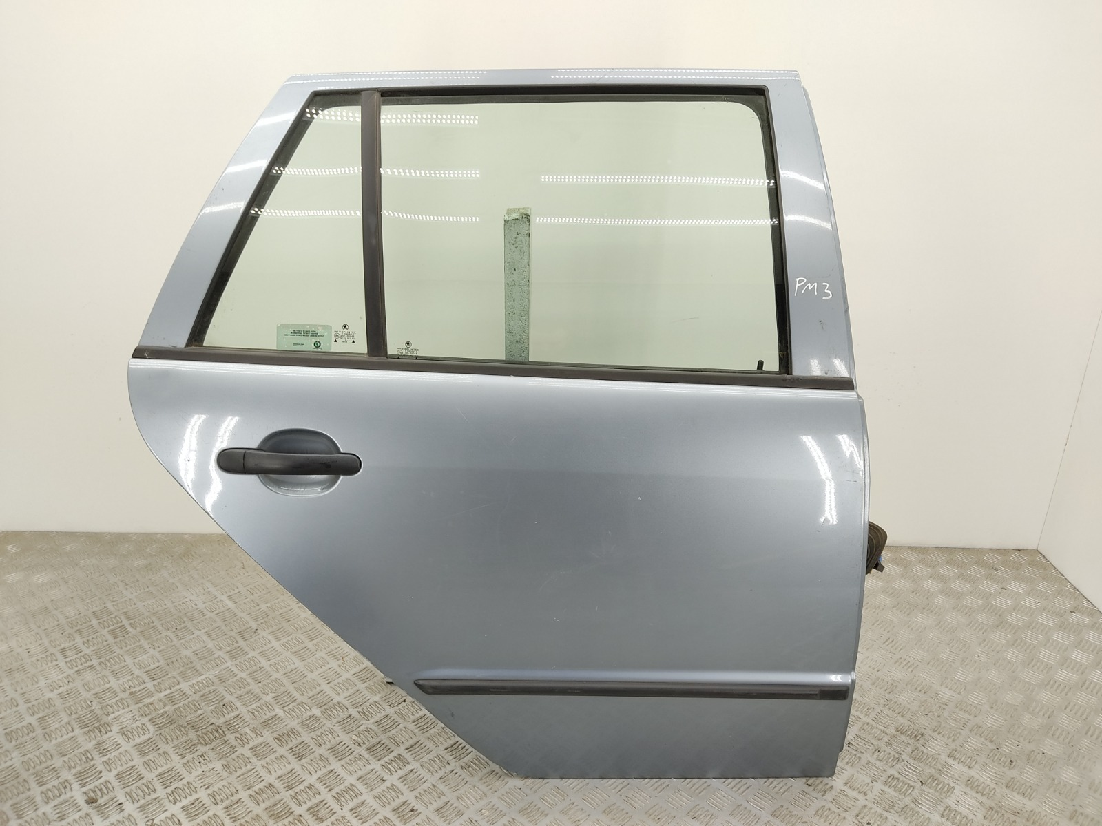 Дверь задняя правая Skoda Fabia 1 1.4 TDI 2003 (б/у)