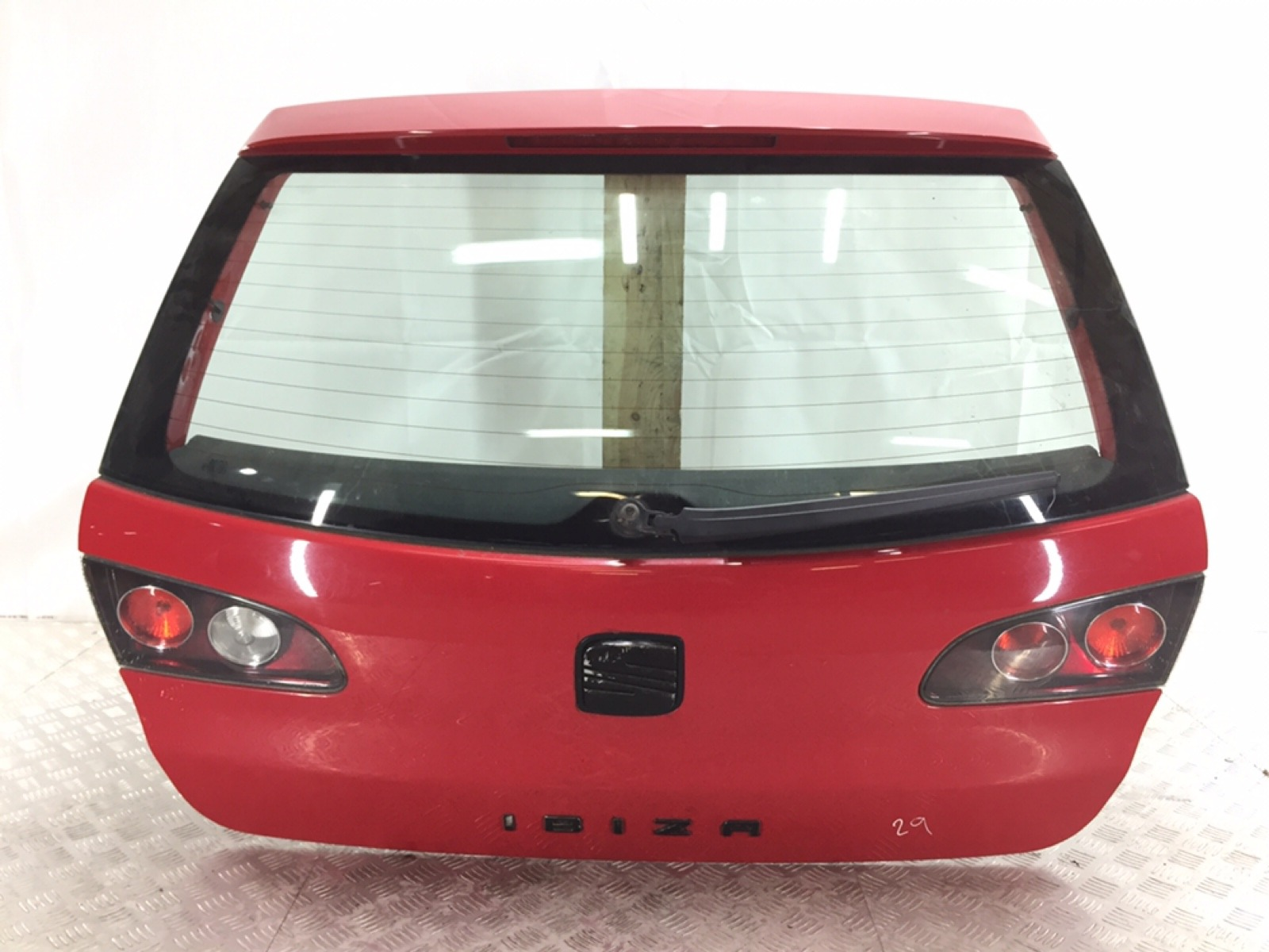 Крышка багажника Seat Ibiza 3 1.4 I 2006 (б/у)