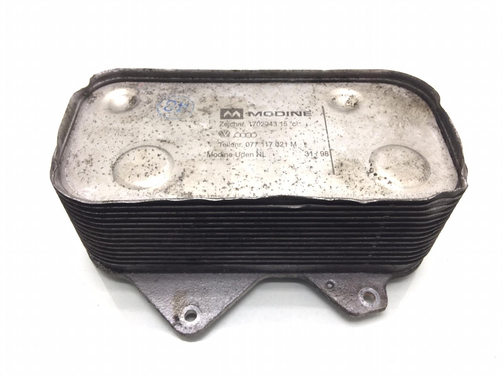 Радиатор масляный Audi A6 C5 4.2 I 1999 (б/у)