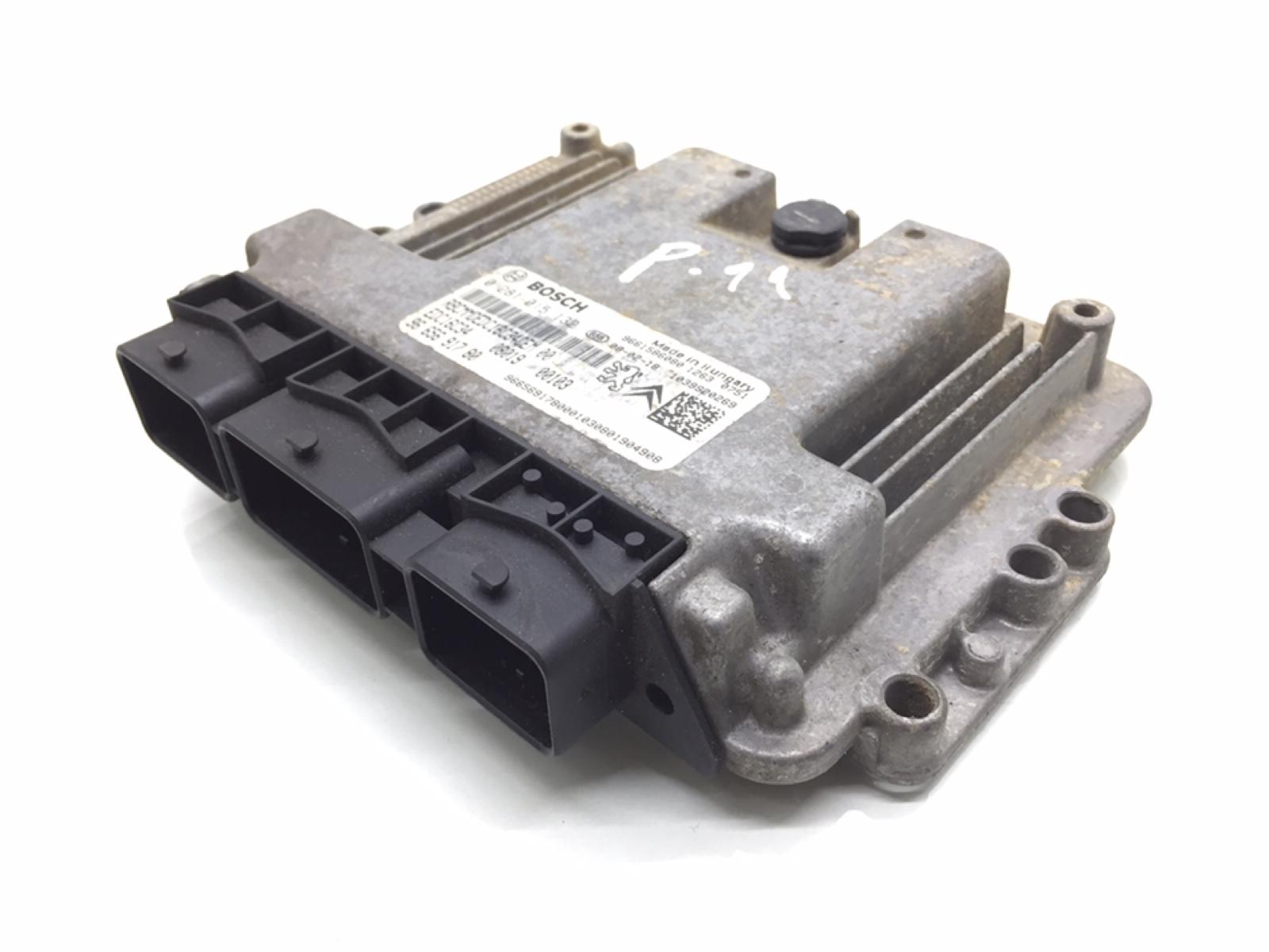 Блок управления двигателем Peugeot Bipper 1.4 TD 2009 (б/у)