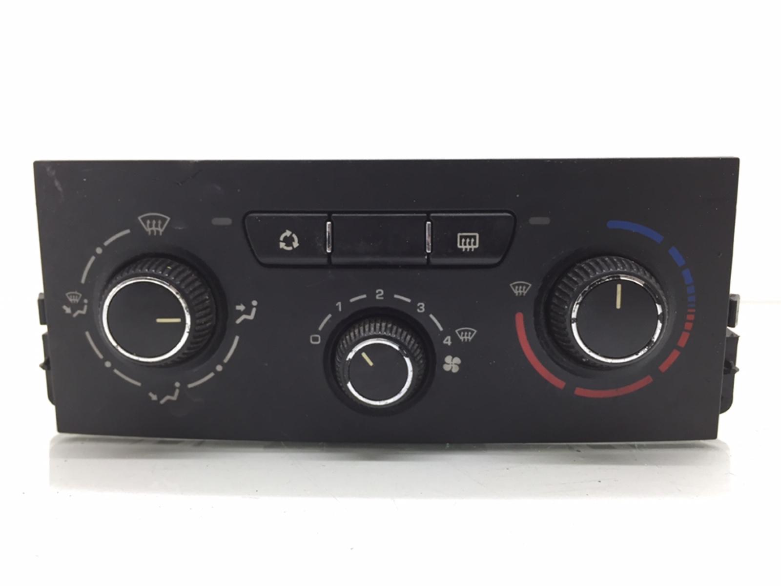 Блок управления печки/климат-контроля Peugeot 207 1.6 HDI 2010 (б/у)