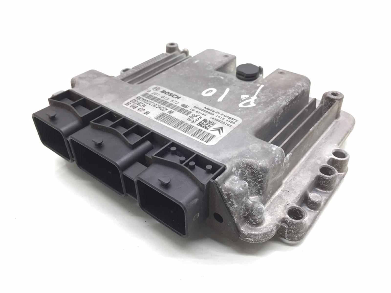 Блок управления двигателем Peugeot 207 1.6 HDI 2010 (б/у)