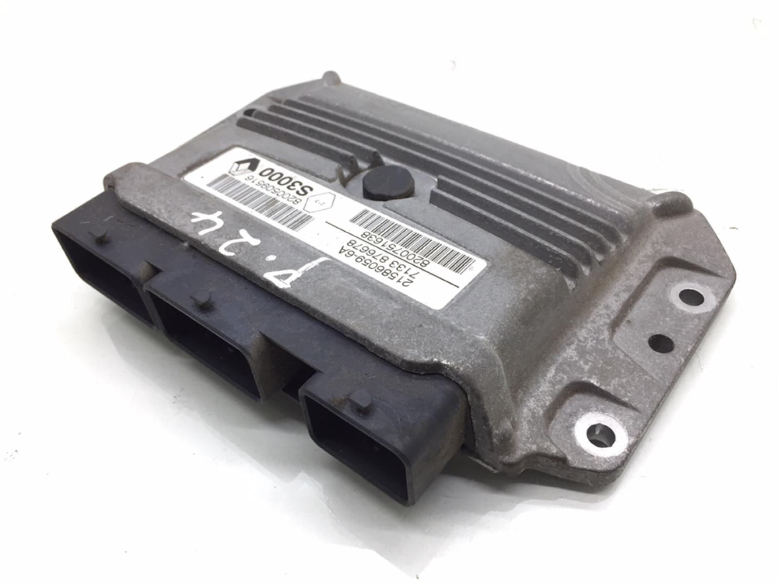 Блок управления двигателем Renault Grand Scenic 2 2.0 I 2007 (б/у)