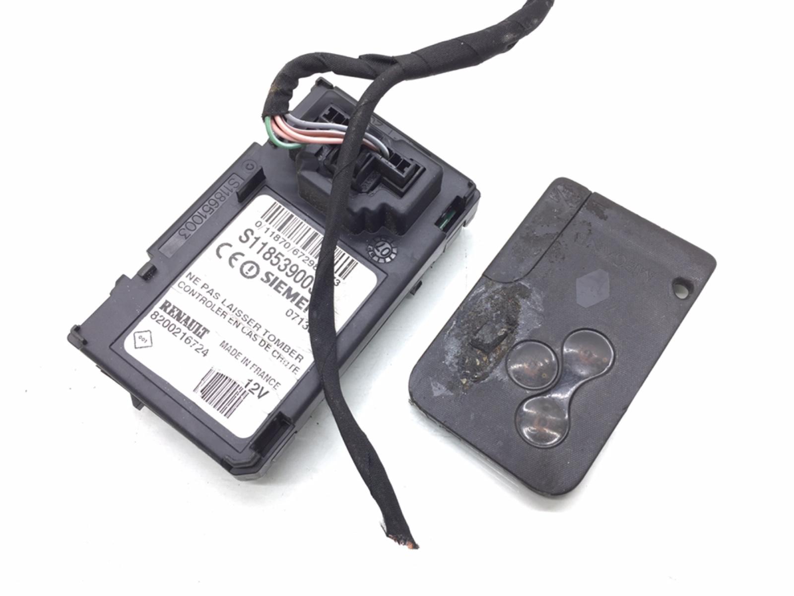 Блок считывания ключ-карты Renault Grand Scenic 2 2.0 I 2007 (б/у)