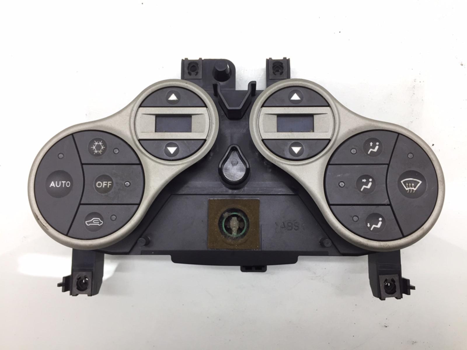 Блок управления печки/климат-контроля Fiat Panda 1.2 I 2006 (б/у)