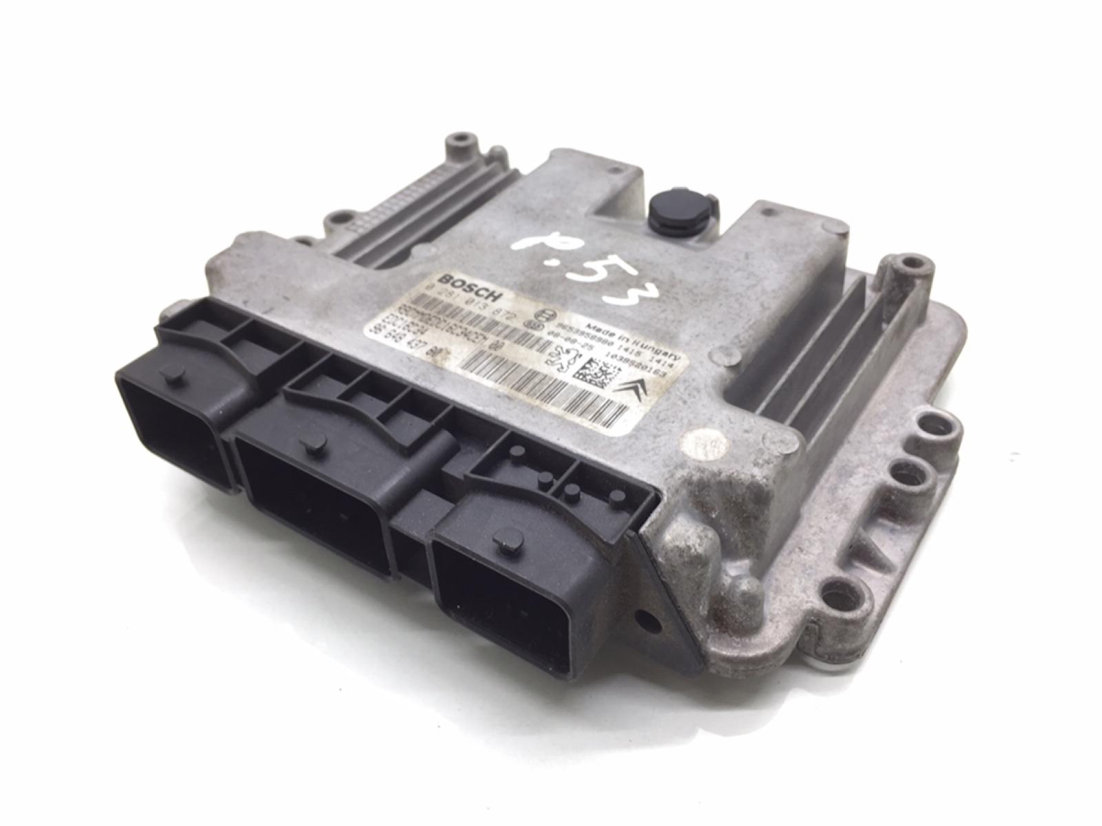 Блок управления двигателем Peugeot 308 T7 1.6 HDI 2008 (б/у)