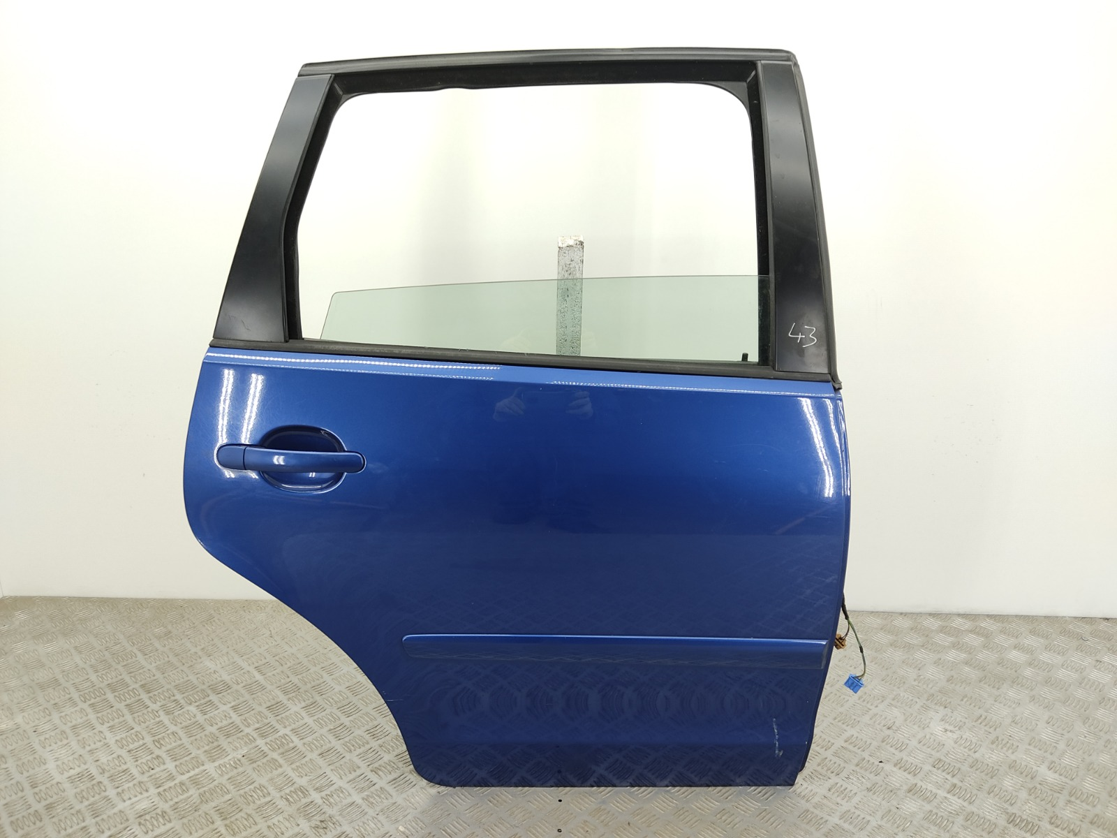 Дверь задняя правая Volkswagen Polo 1.2 I 2007 (б/у)