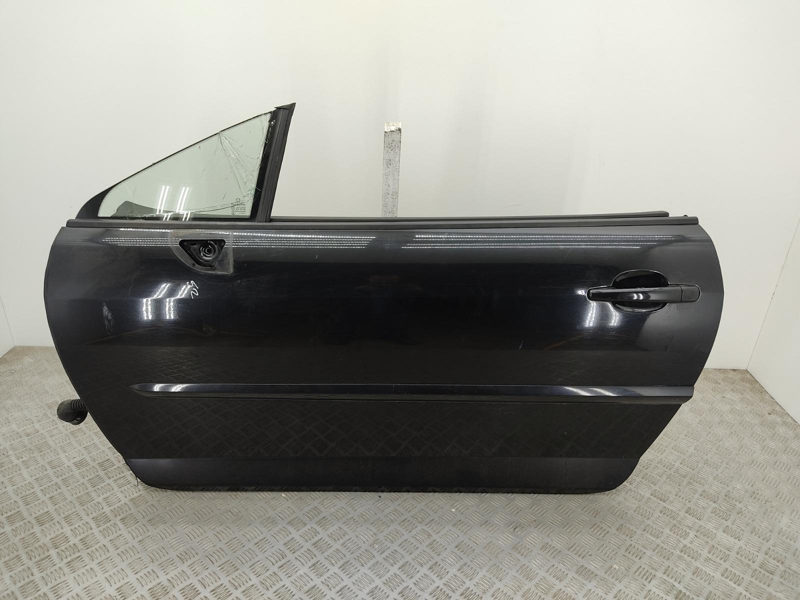 Дверь передняя левая Peugeot 407 COUPE 2.2 I 2006 (б/у)