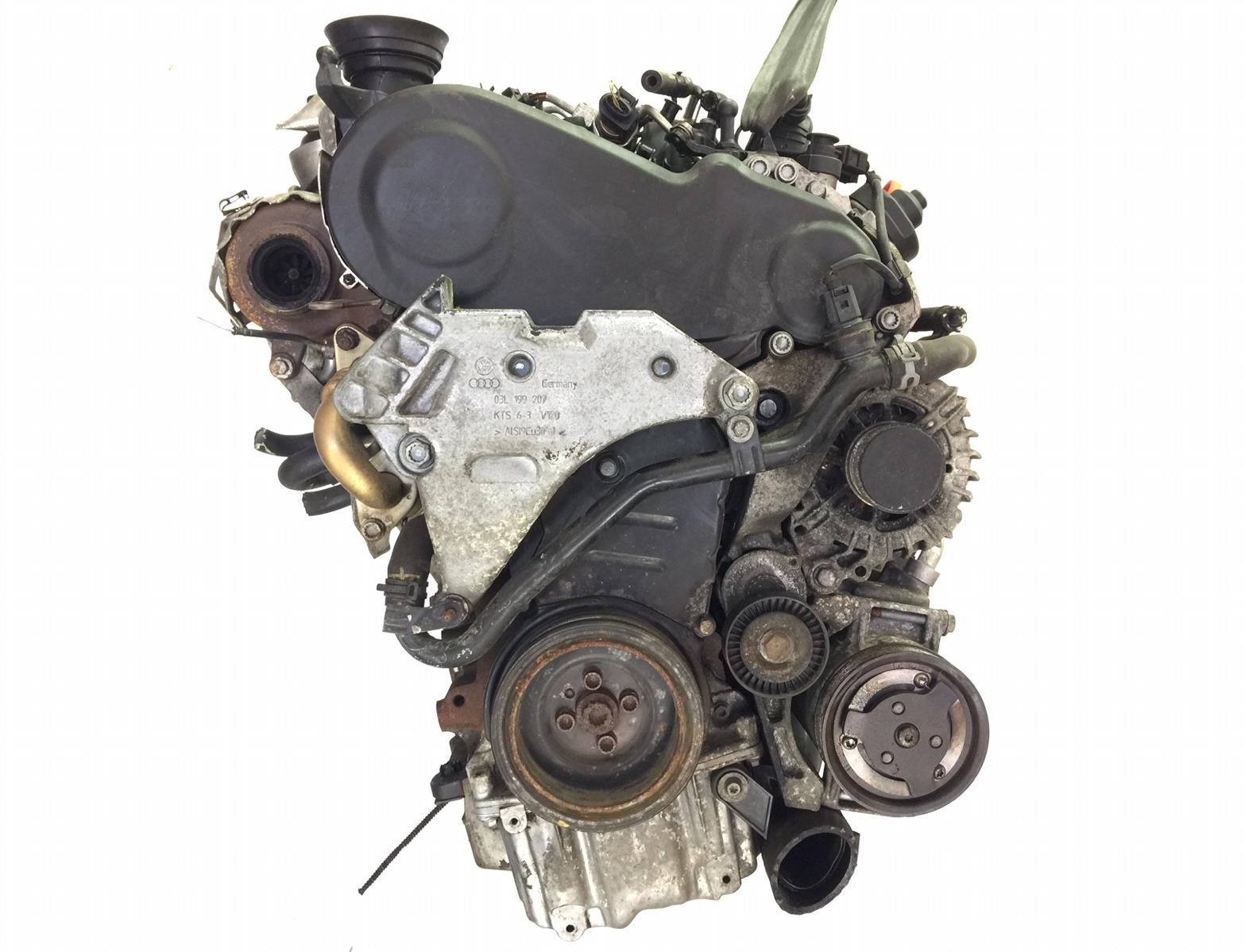 Двигатель Seat Leon 2.0 TDI 2010 (б/у)