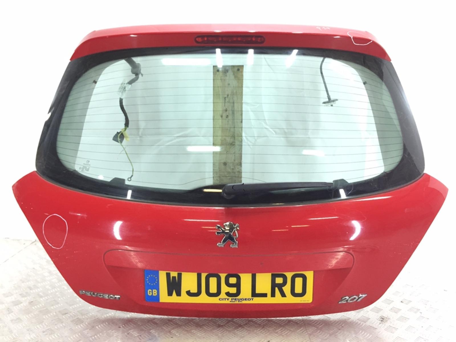Крышка багажника Peugeot 207 1.4 I 2009 (б/у)