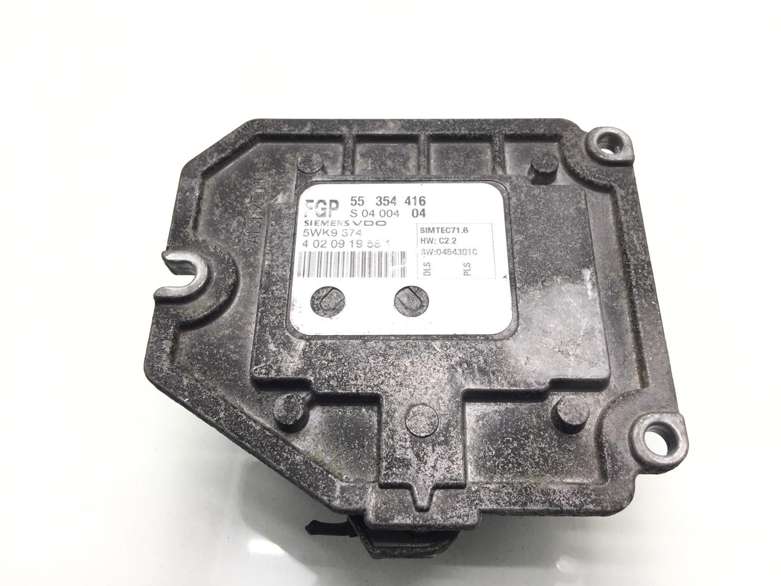 Блок управления двигателем Opel Vectra C 1.8 I 2004 (б/у)