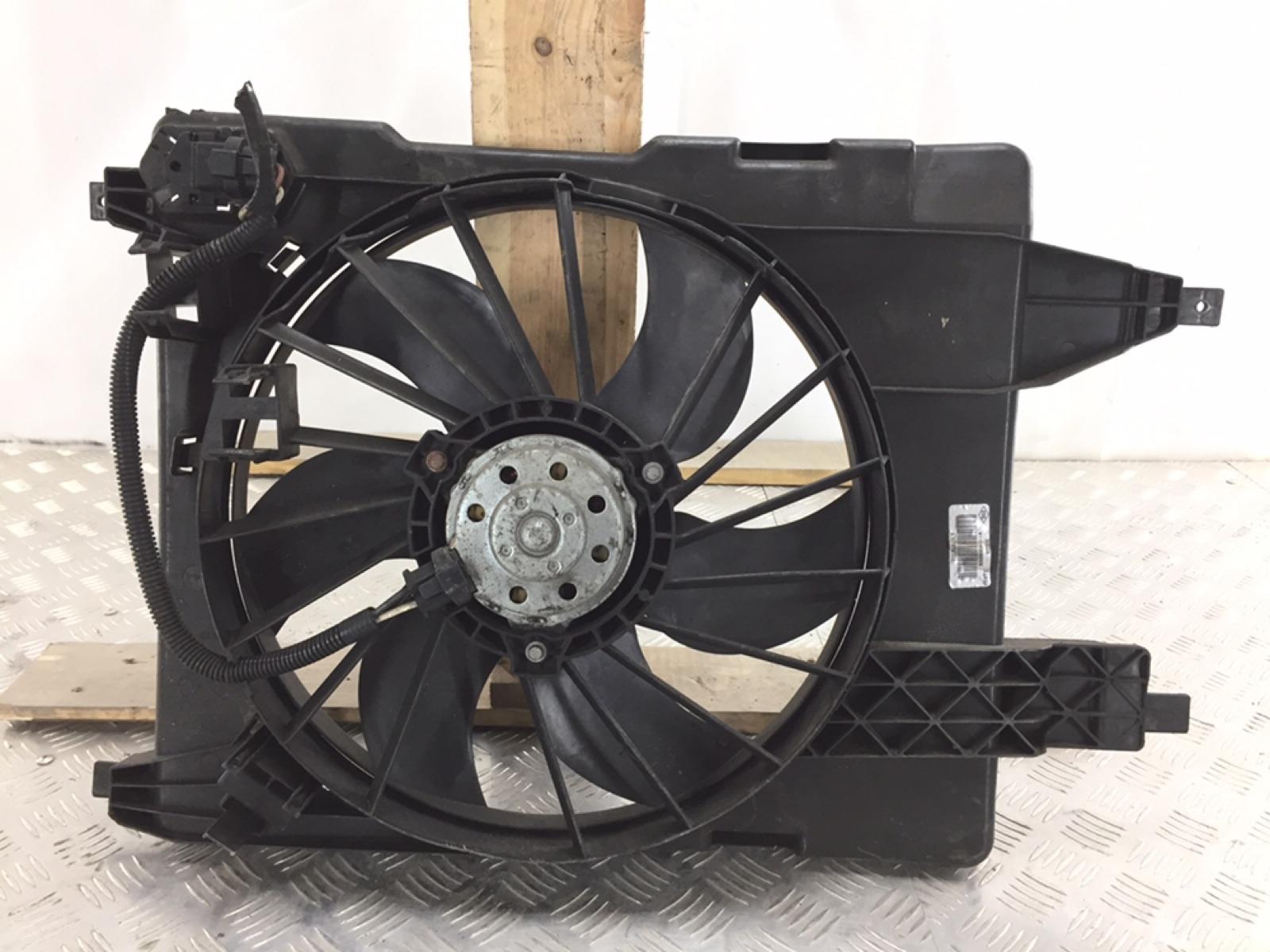 Вентилятор радиатора Renault Scenic 1.6 I 2008 (б/у)