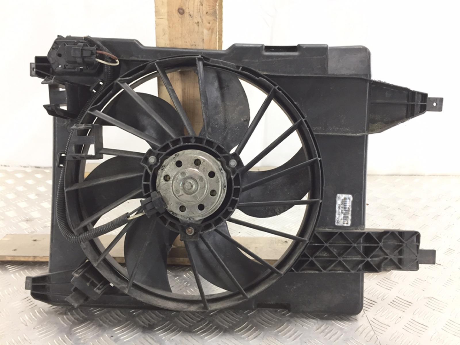Вентилятор радиатора Renault Scenic 1.6 I 2006 (б/у)