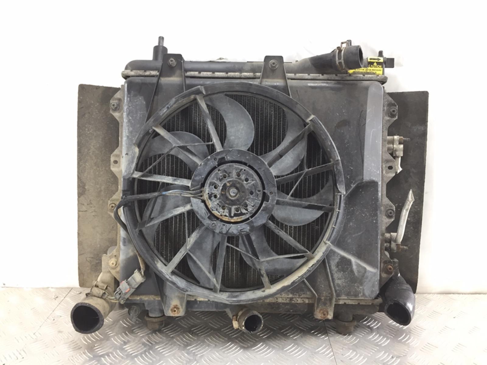 Кассета радиаторов Chrysler Pt-Cruiser 2.2 CRD 2005 (б/у)