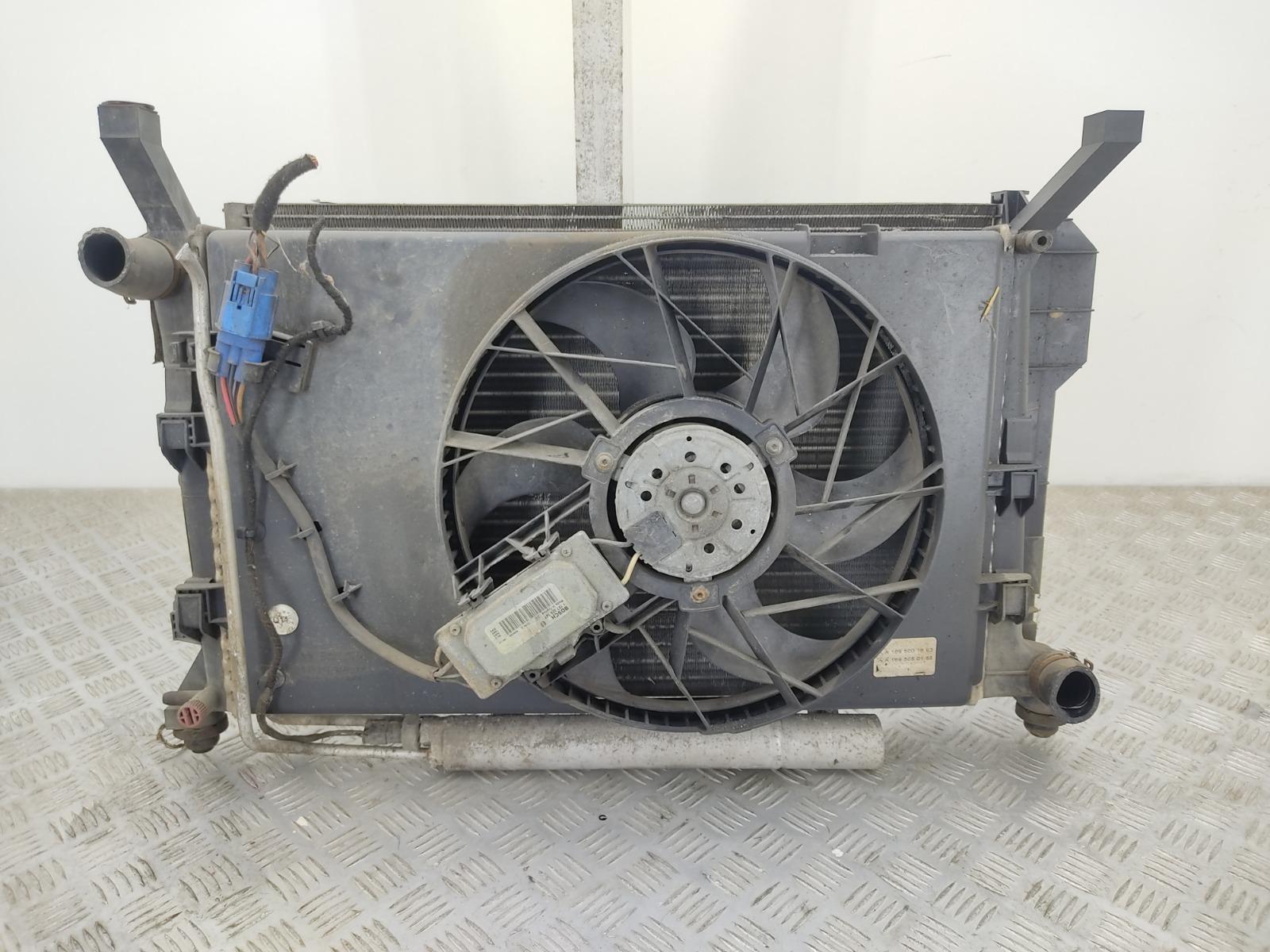 Кассета радиаторов Mercedes A W169 1.5 I 2005 (б/у)