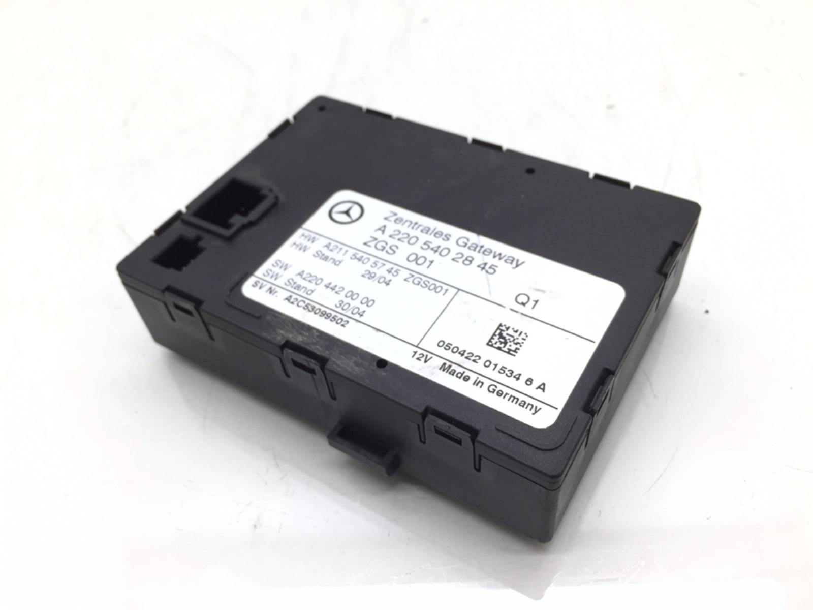 Блок управления zgw Mercedes S W220 3.2 CDI 2005 (б/у)