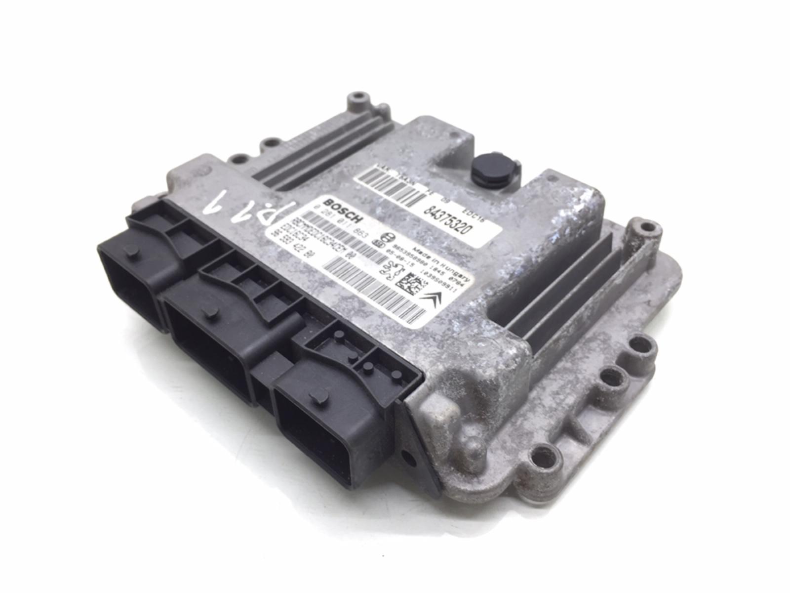 Блок управления двигателем Peugeot 307 1.6 HDI 2005 (б/у)