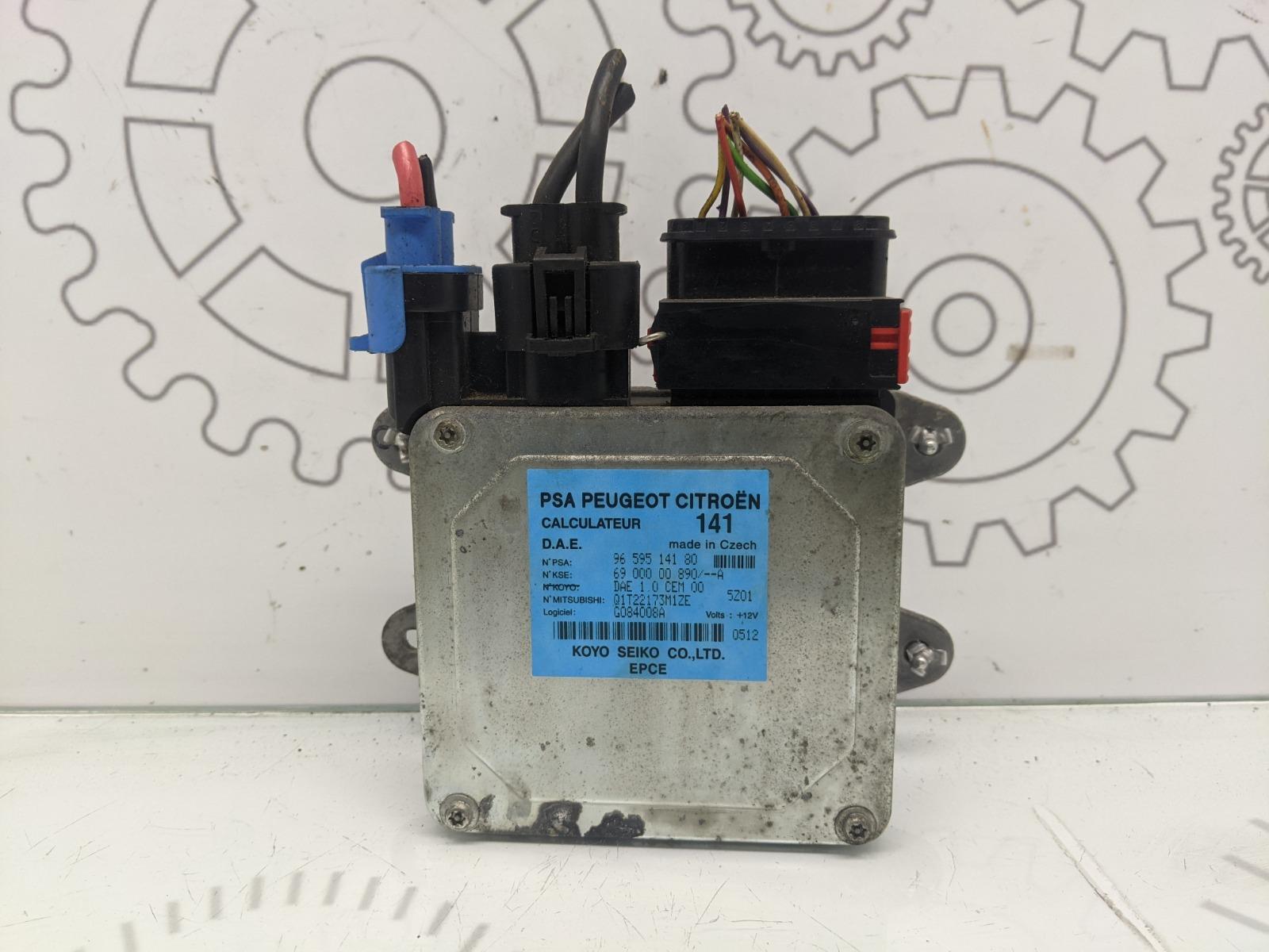 Блок управления электроусилителя руля Citroen C2 1.4 I 2006 (б/у)