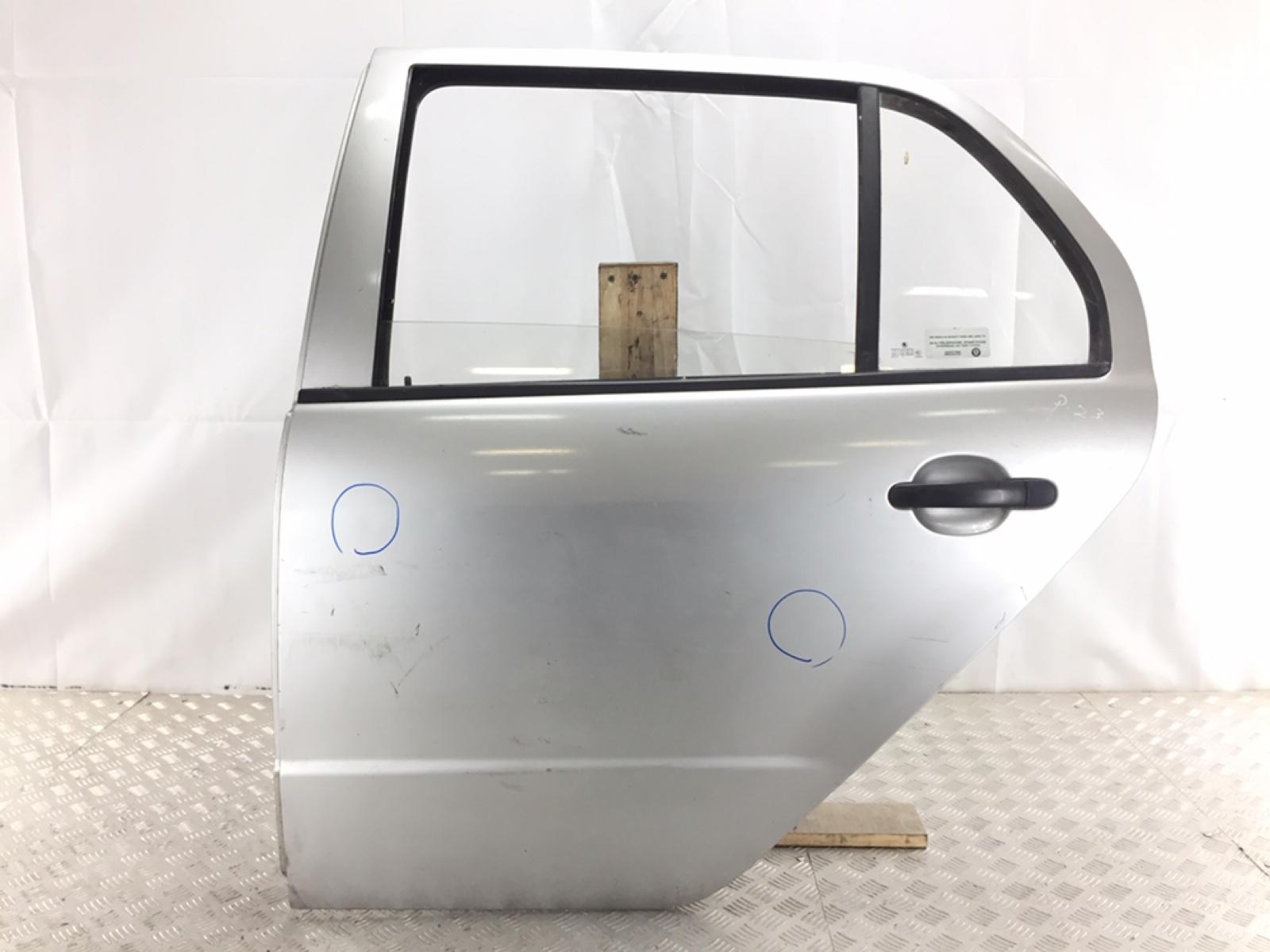 Дверь задняя левая Skoda Fabia 1 1.4 TDI 2005 (б/у)