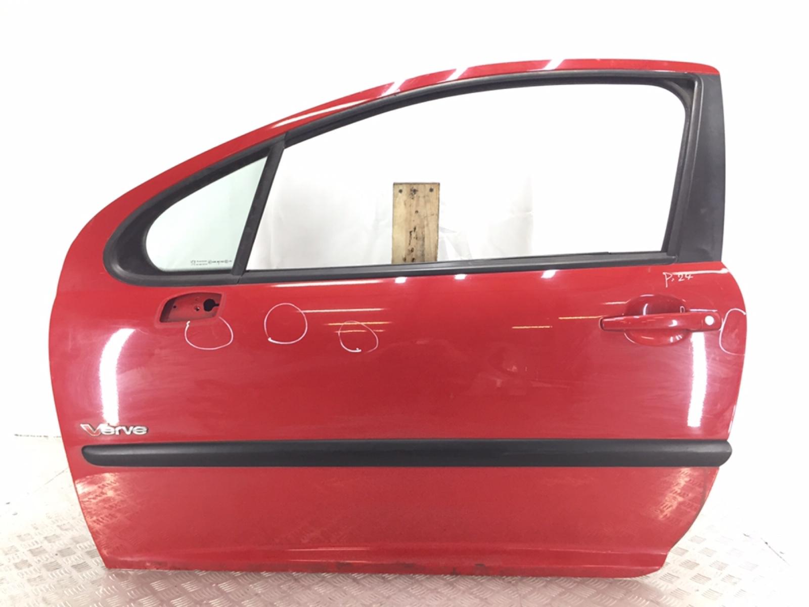 Дверь передняя левая Peugeot 207 1.4 I 2009 (б/у)