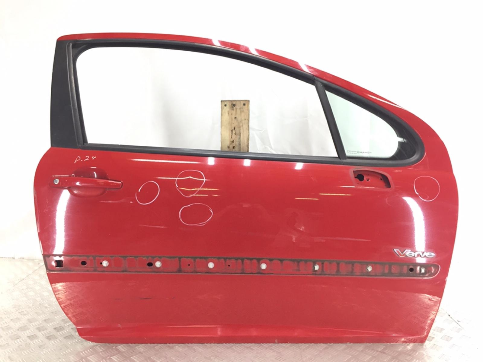 Дверь передняя правая Peugeot 207 1.4 I 2009 (б/у)