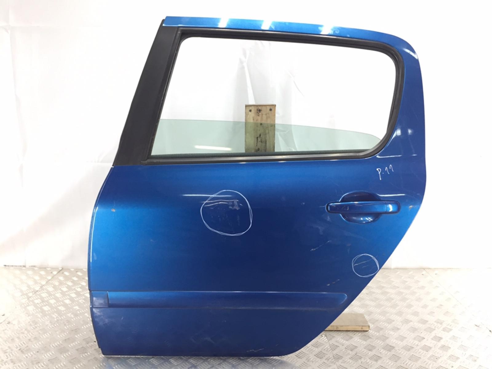 Дверь задняя левая Peugeot 307 1.6 HDI 2005 (б/у)