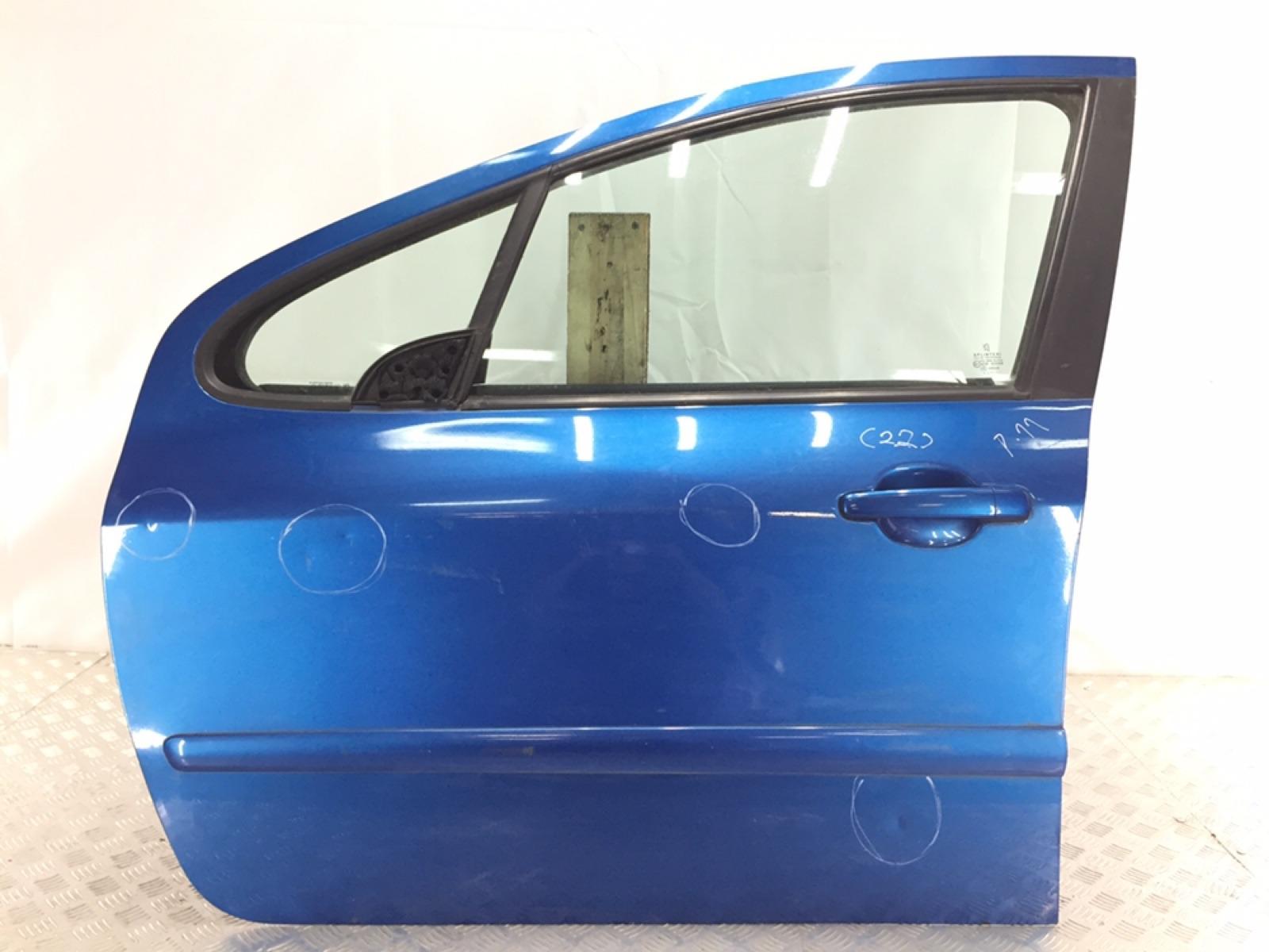 Дверь передняя левая Peugeot 307 1.6 HDI 2005 (б/у)