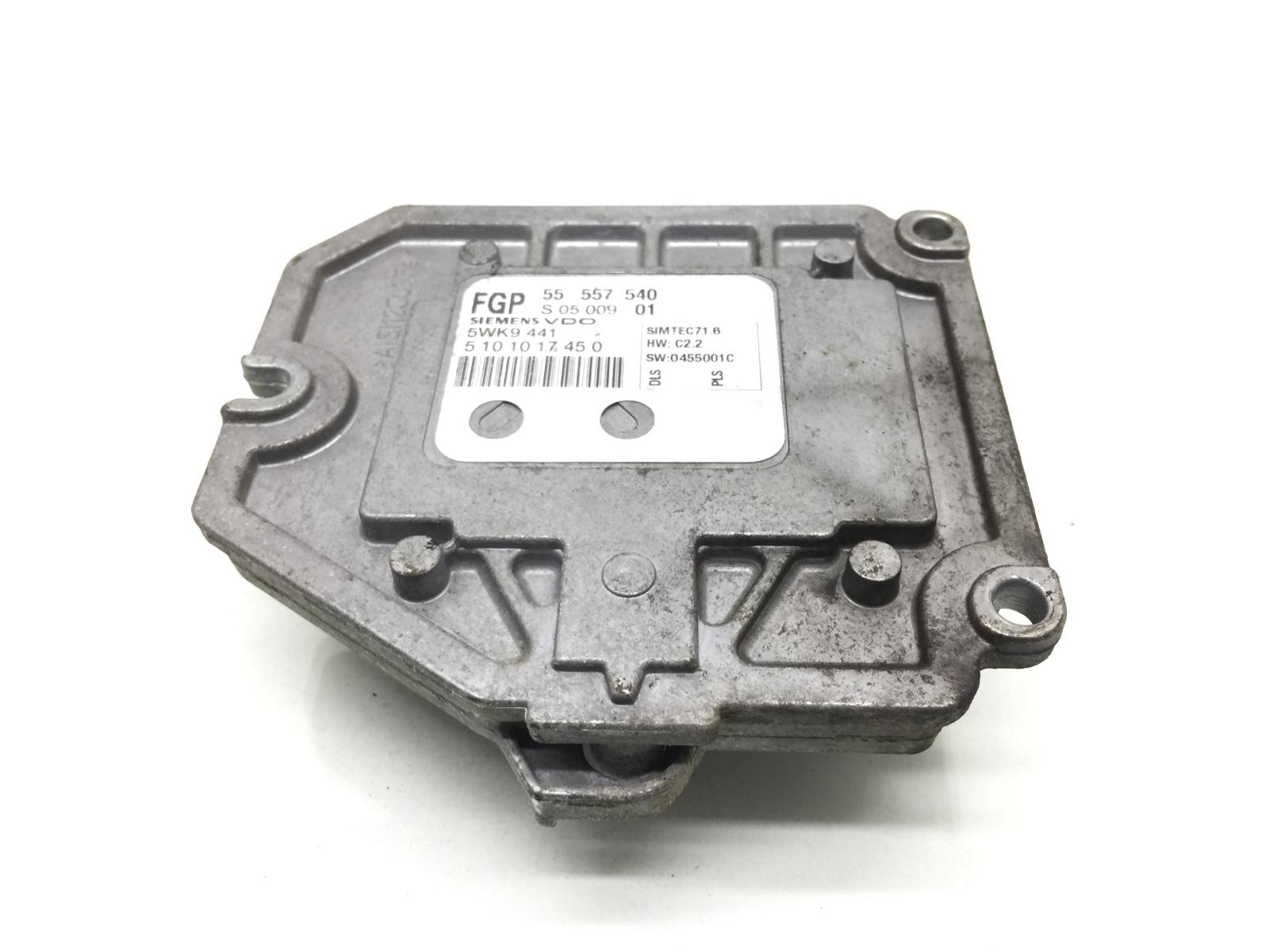 Блок управления двигателем Opel Vectra C 1.8 I 2005 (б/у)