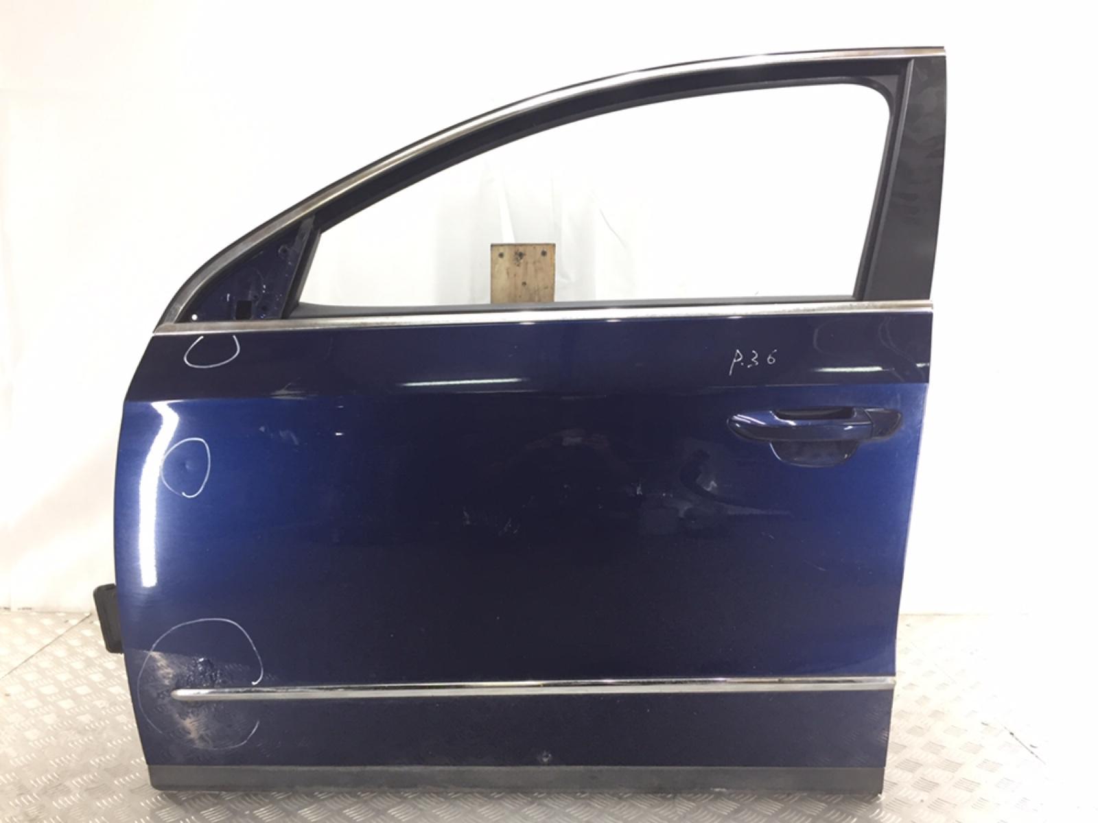 Дверь передняя левая Volkswagen Passat B6 2.0 TDI 2006 (б/у)