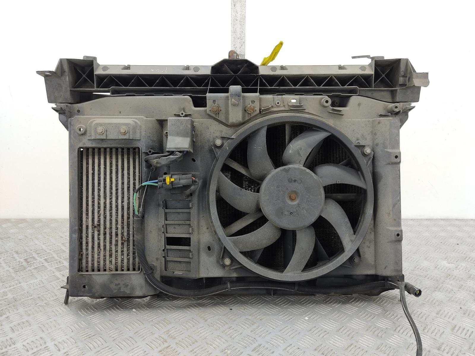 Кассета радиаторов Citroen Berlingo 1.6 HDI 2011 (б/у)