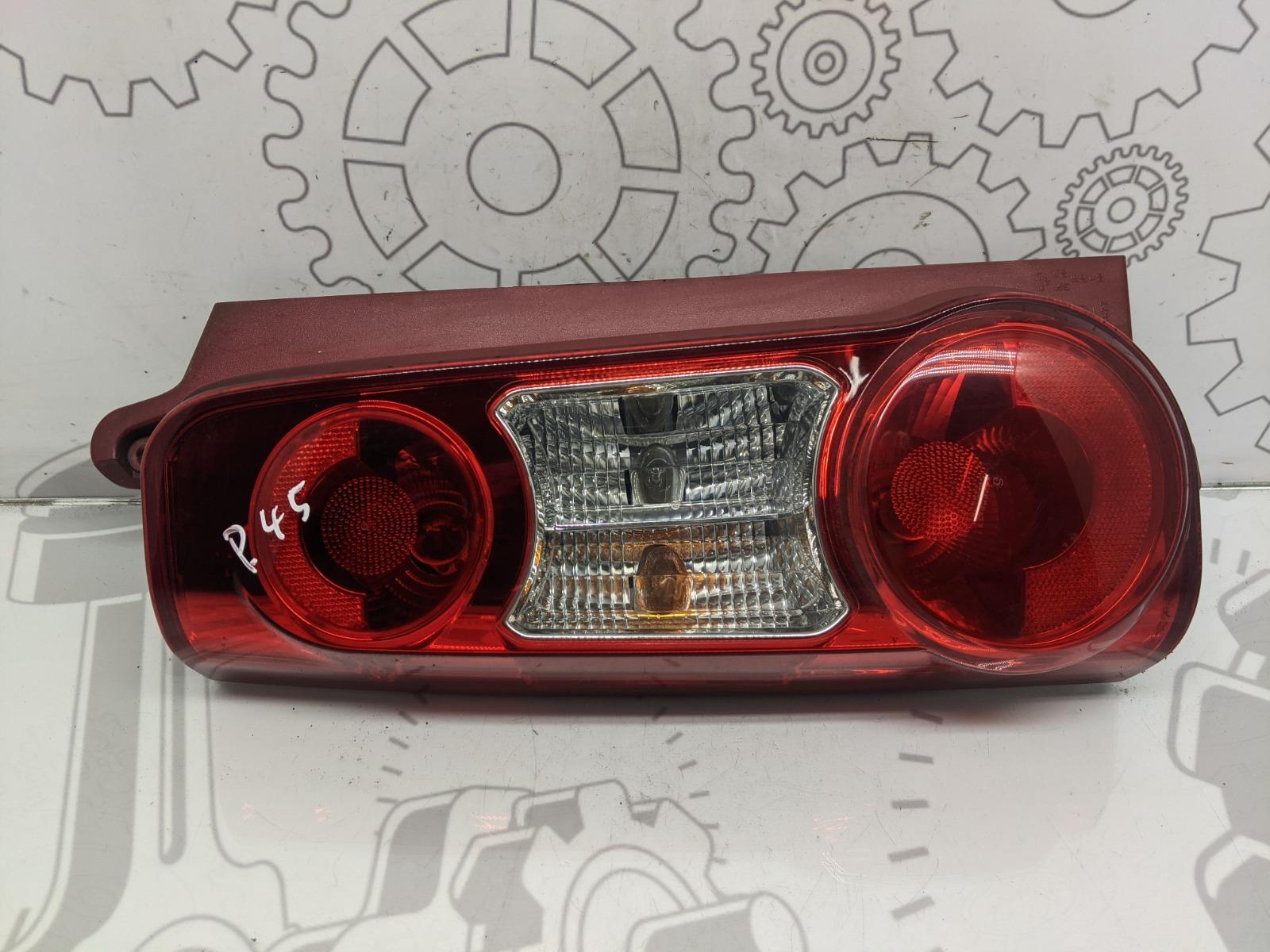 Фонарь задний левый Citroen Berlingo 1.6 HDI 2011 (б/у)
