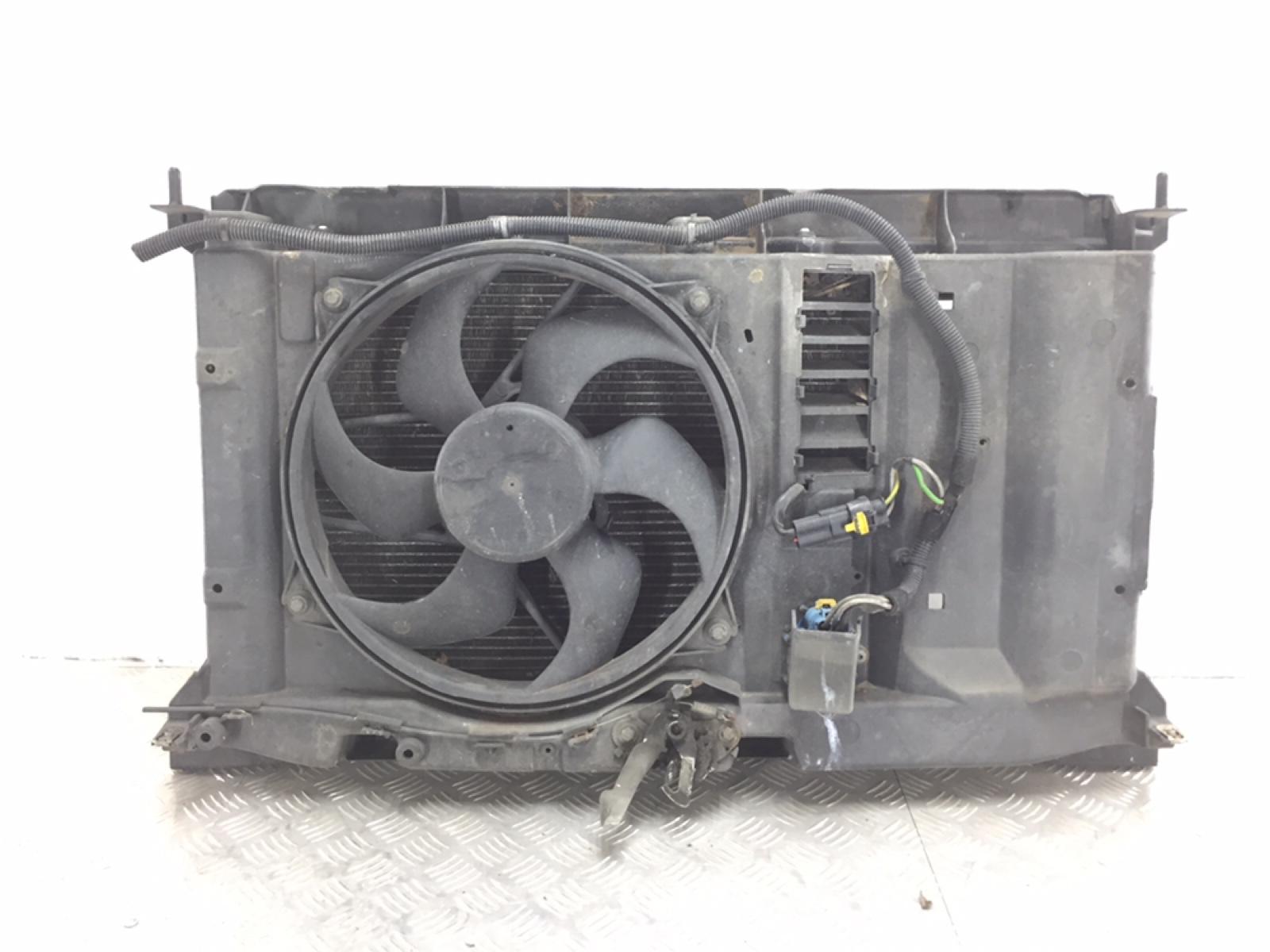 Кассета радиаторов Peugeot 307 1.6 I 2007 (б/у)