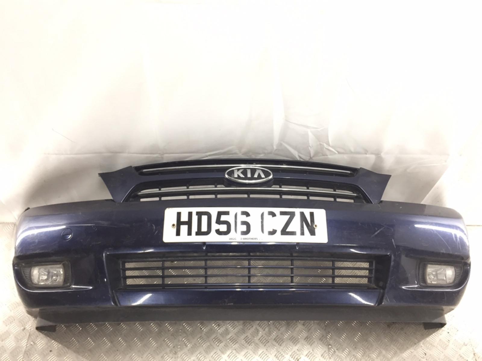 Бампер передний Kia Sedona 2.9 CRDI 2007 (б/у)