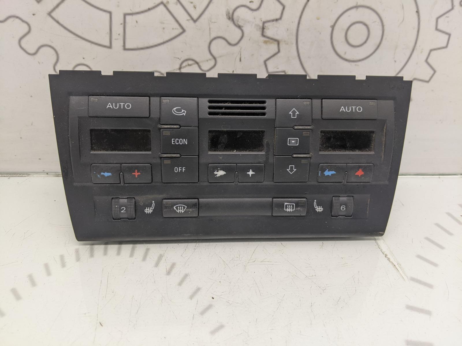 Блок управления печки/климат-контроля Audi A4 B7 3.0 TDI 2006 (б/у)