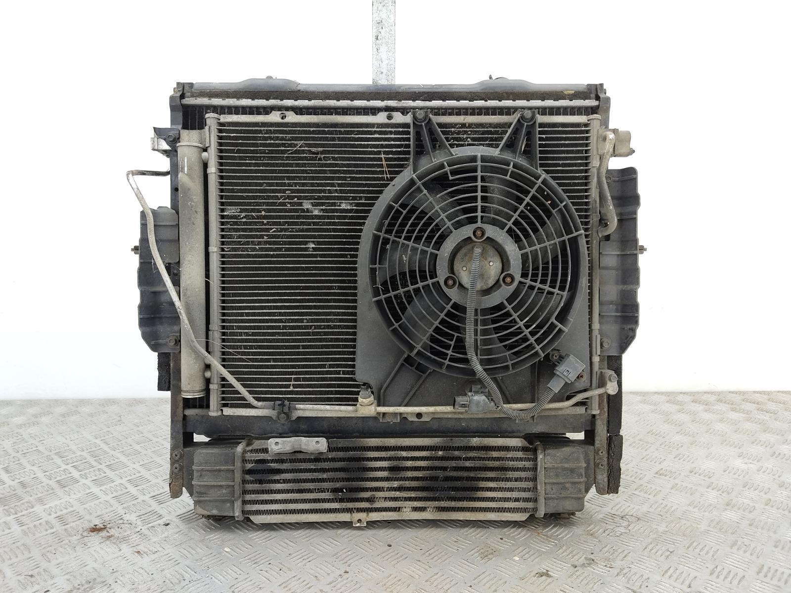 Кассета радиаторов Kia Sorento 2.5 CRDI 2005 (б/у)