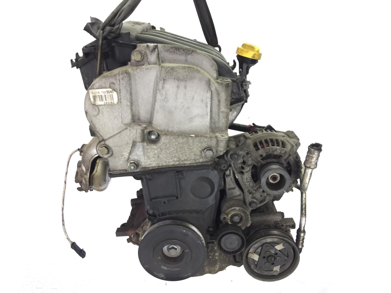 Двигатель Renault Modus 1.4 I 2006 (б/у)