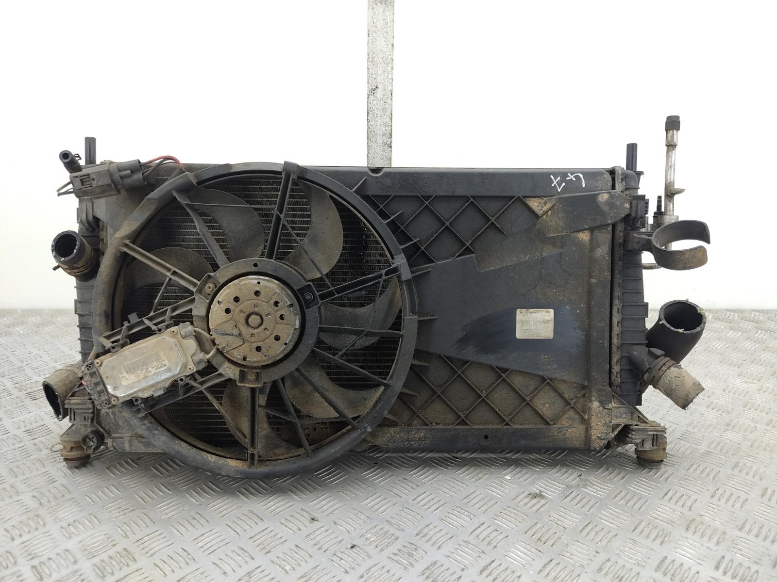 Кассета радиаторов Ford Focus 1.6 TDCI 2010 (б/у)