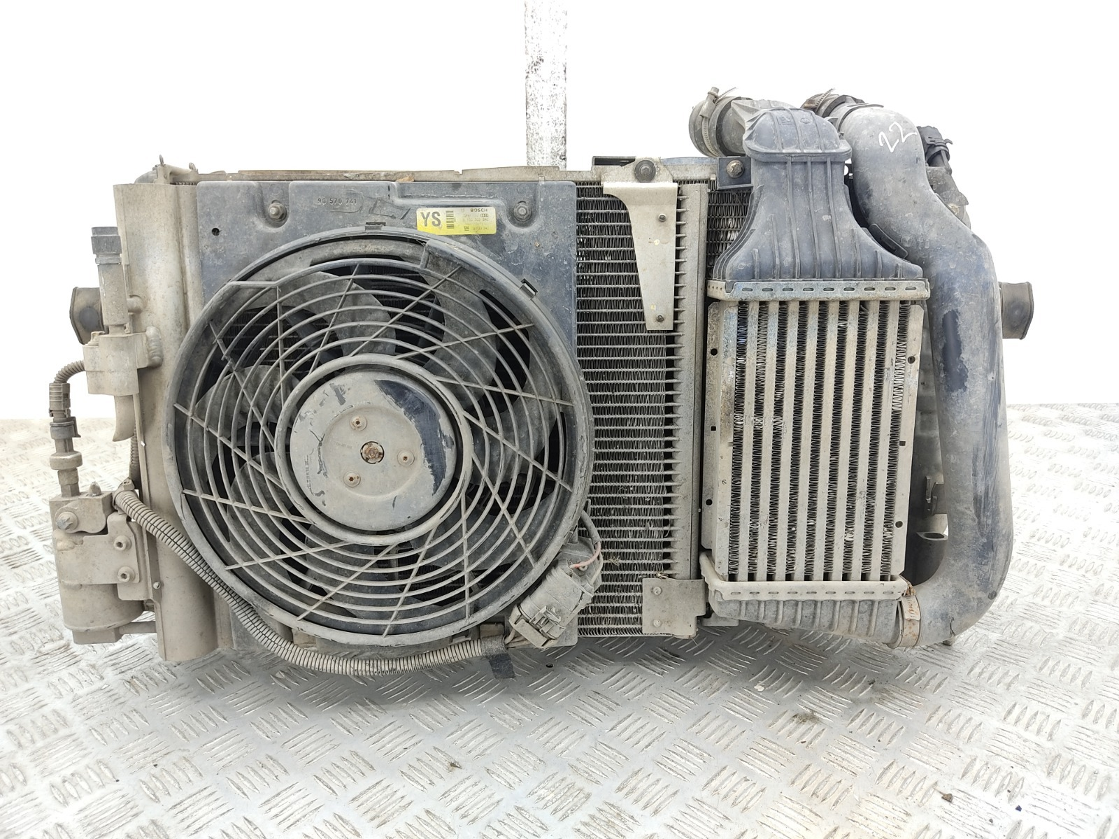 Кассета радиаторов Opel Zafira A 2.0 DTI 2004 (б/у)