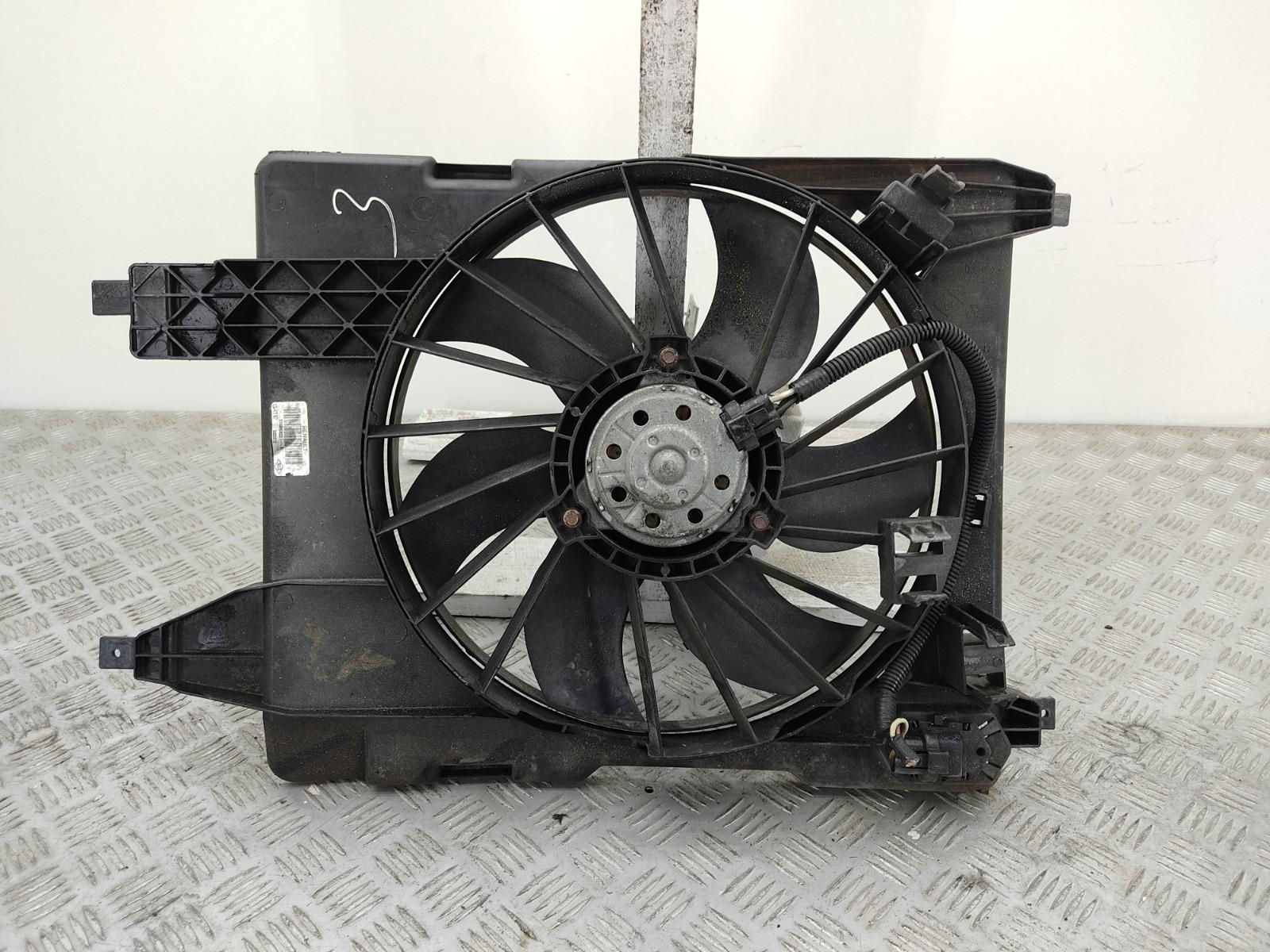 Вентилятор радиатора Renault Megane 1.6 I 2008 (б/у)