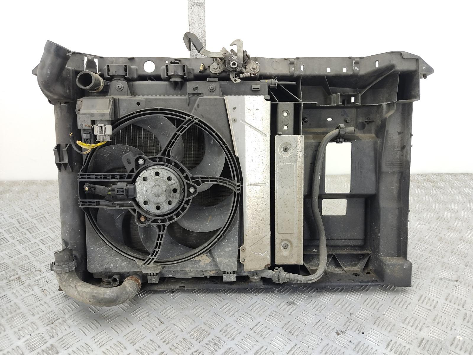 Кассета радиаторов Citroen C2 1.4 I 2006 (б/у)