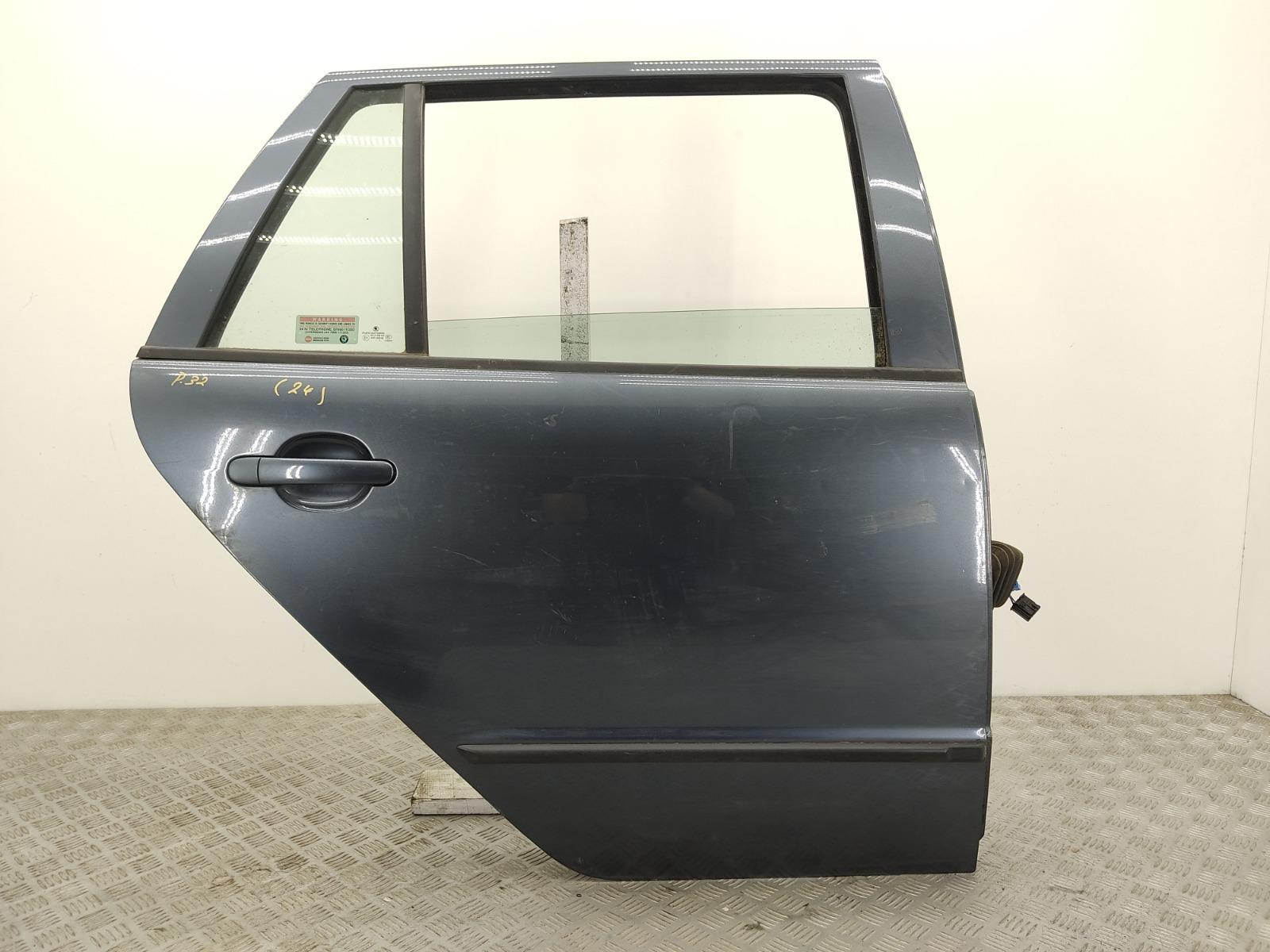 Дверь задняя правая Skoda Fabia 1.9 TDI 2006 (б/у)
