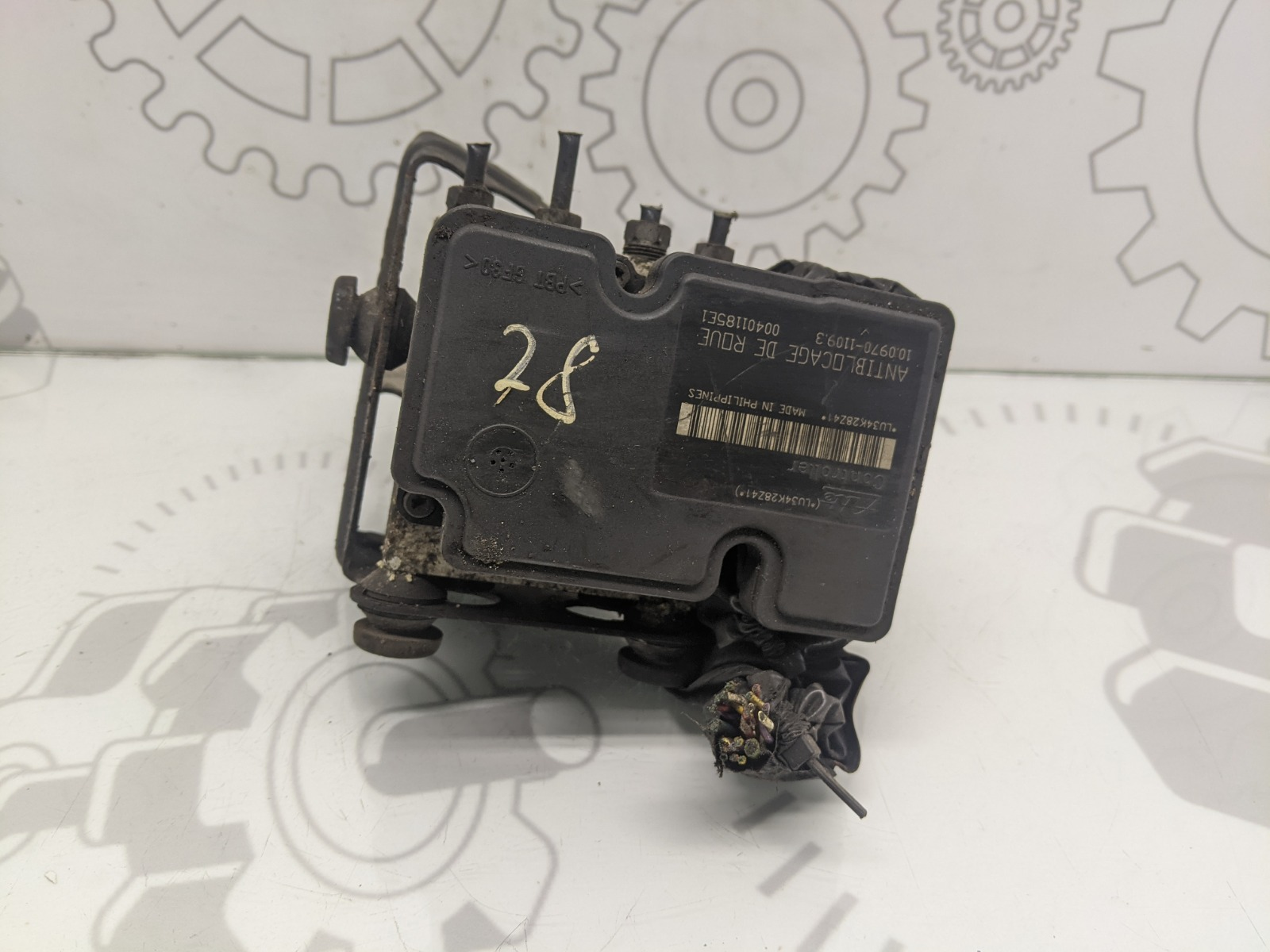 Блок abs Citroen C3 1.4 I 2005 (б/у)